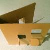 Cardboard 'cover'