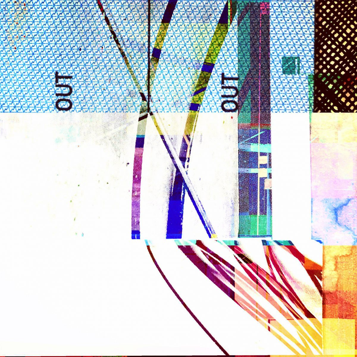 Crossed Wires. Phone collages for Happy Half Hour #335.